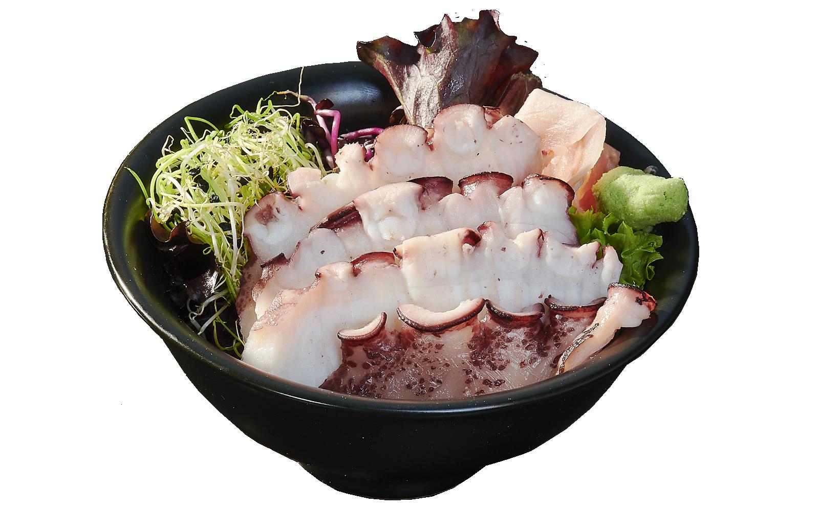 Sashimi Octopus