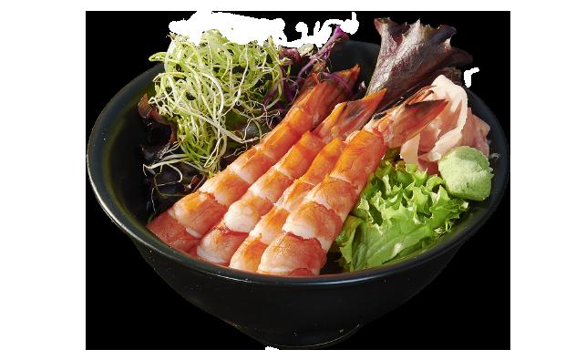 Sashimi Shrimp