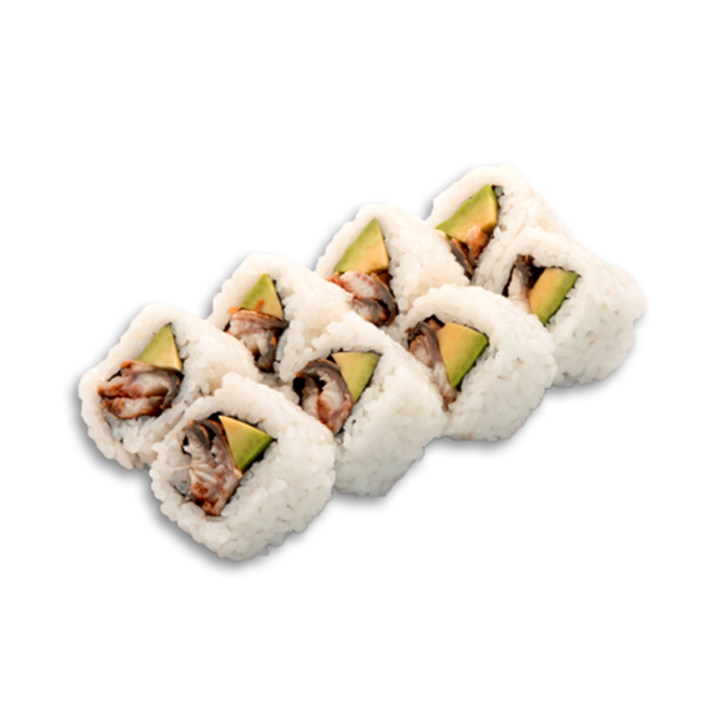EEL AND AVOCADO MAKI