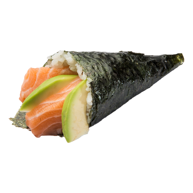 SALMON AVOCADO TEMAKI