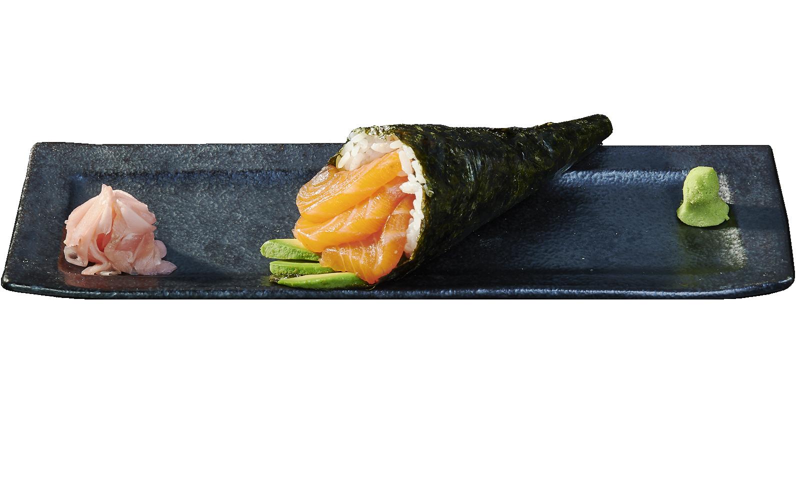 Temaki Salmon and Avocado
