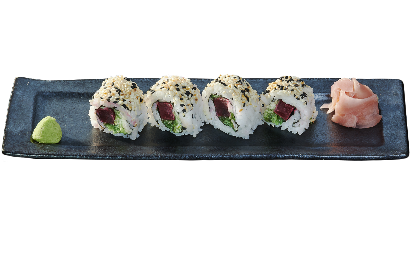 Beet and Sea Weed Roll