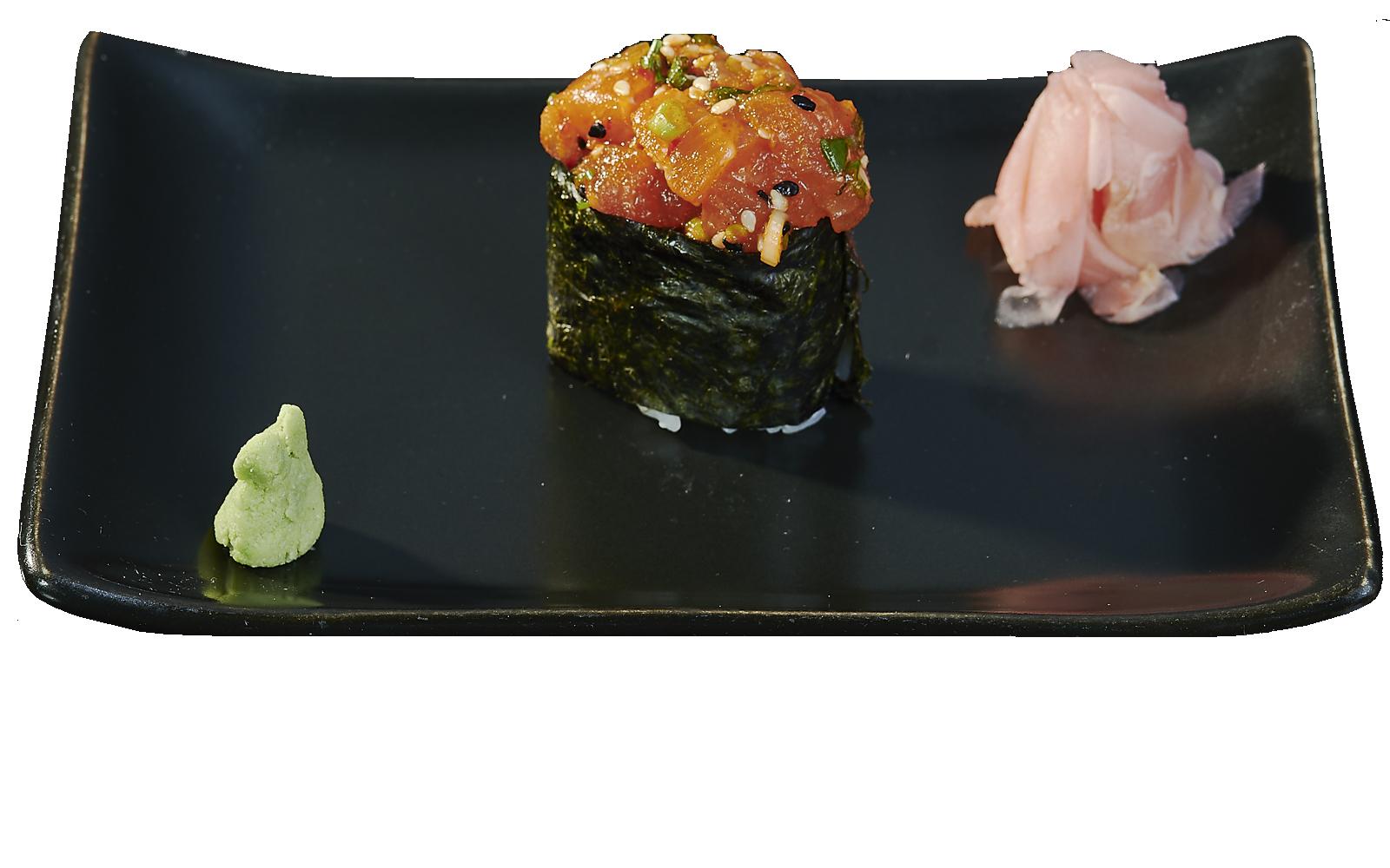 Gunkan Spicy Salmon