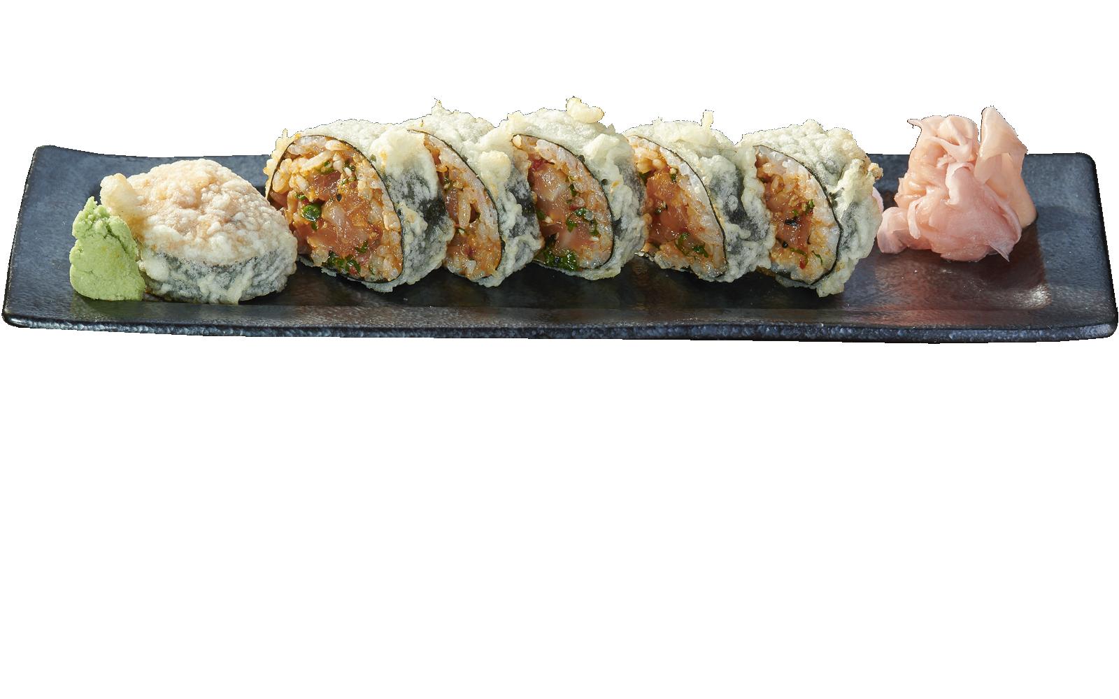 Spicy Salmon Tempura