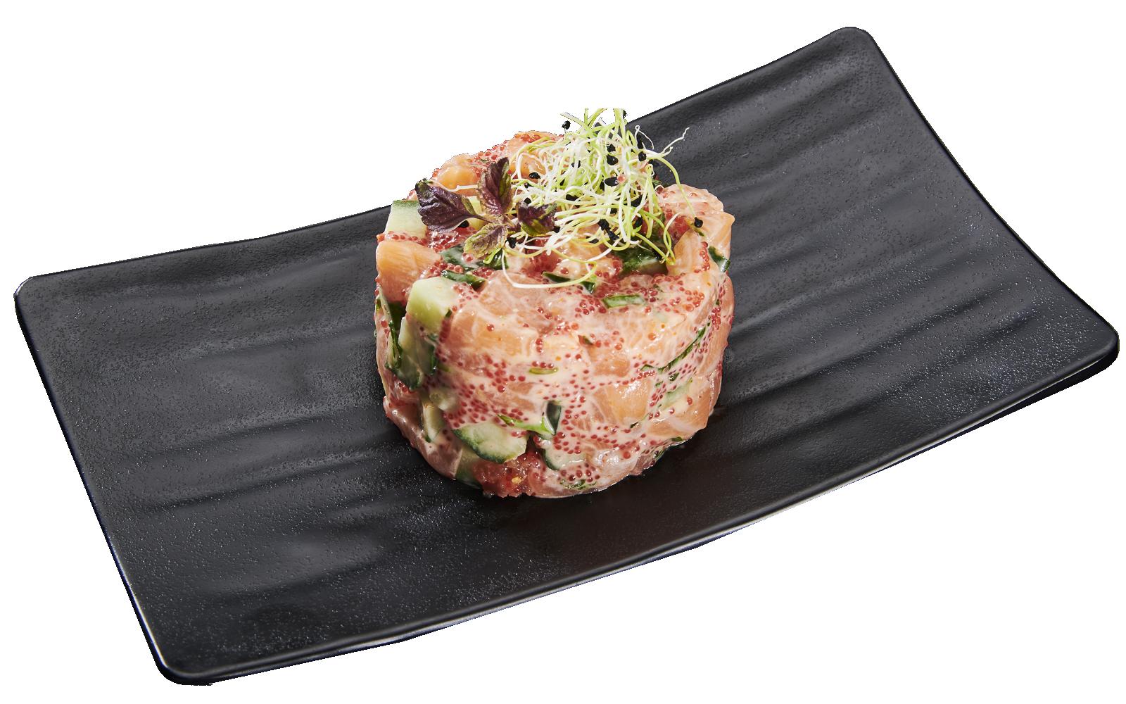 Tartar Salmon and Avocado