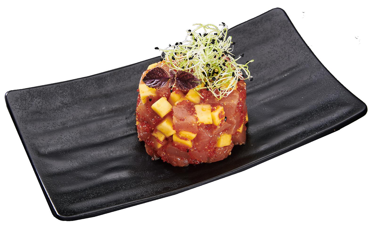 Tartar Tuna and Mango