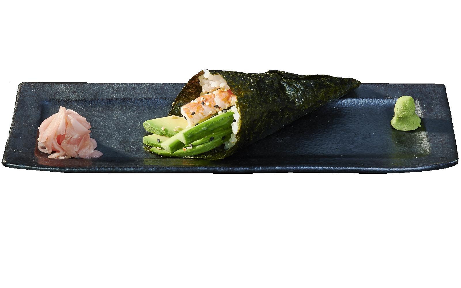 Temaki Shrimp and Avocado