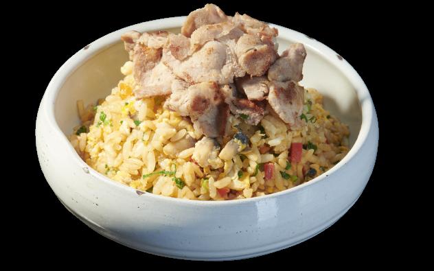 Vegetables Fried Rice Pork
