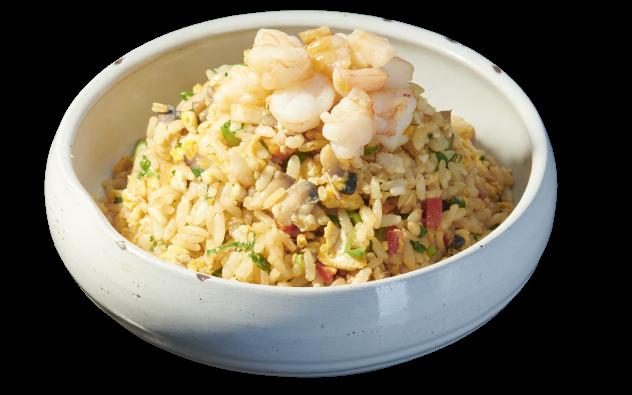 Vegetables Fried Rice Shrimp